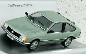 OPEL Monza A - greenmetallic - OPEL Collection 1:43