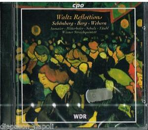 Schoenberg-Webern-Berg-Waltz-Reflection-Wiener-Streichquintett-CD
