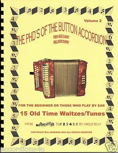 Details about BUTTON ACCORDION BOOK, OLD TIME WALTZES, PLAY BY NUMBERS FOR  THE 1, 2 OR 3 ROW