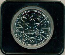 1978 CANADA COMMEMORATIVE GAMES SPECIMEN DOLLAR, WITH CASE, GREAT PRICE!