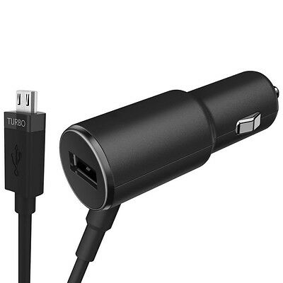 GENUINE OEM TurboPower 25 Dual Port Rapid Charge Car Charger For Motorola Z G4