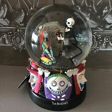 "Nightmare Before Christmas Jack And Sally Snow Globe 5"" Disney"