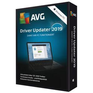 AVG Driver Updater 2019 * 2 PC 1 Jahr * Vollversion Lizenz