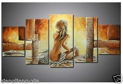 Framed! !Modern Hand abstract Huge Art Decor wall Canvas Oil Painting