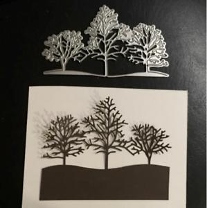 Christmas Snow Tree Metal Cutting Dies Cuts Stencil Scrapbook Embossing Craft Hi