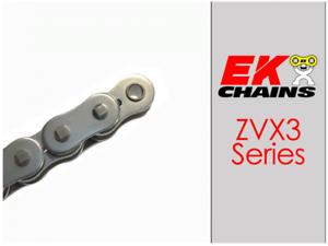 EK ZVX3-520 MOTORCYCLE CHAIN 150 LINKS TENSILE STRENGTH 9400 lbs GOLD
