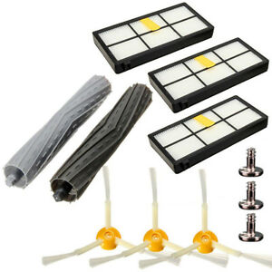 Replacement Side Brush Filter Extractor Kit For irobot Roomba 800 870 880 980 US