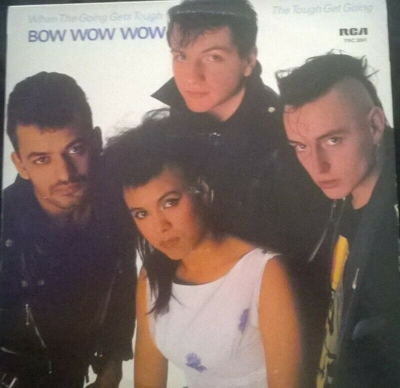 """BOW WOW WOW LP, The Tough Get Going, 12"""" Vinyl Record."""