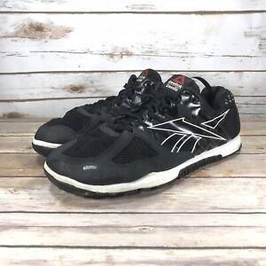 Reebok-Crossfit-Shoes-Mens-Size-12-Athletic-Running-Cross-Training-Jogging-Black