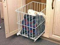 Kv Removable Wire, Roll-out Laundry Hamper