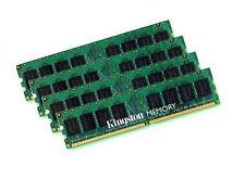 4x 2GB 8GB Kingston RAM Speicher DDR2 800 Mhz KVR800D2N6/2G PC2-6400 240p