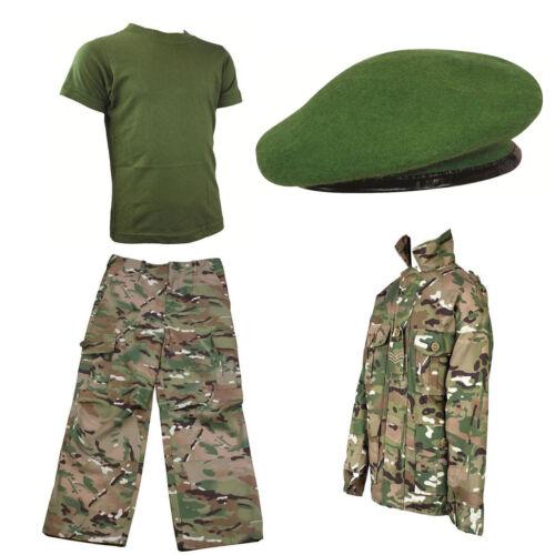 UNIFORMI tutte le taglie Kids PACK 9 HMTC Mimetico MTP Multicam corrispondenza Militare dell/'Esercito Berretto