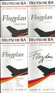 Deutsch-BA-timetable-lot-4-1993-1994