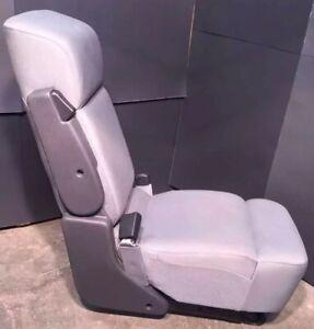 Remarkable Details About 2008 Ford F150 Center Bench Jump Seat Arm Rest Cloth 2Dr Medium Flint Greyce Machost Co Dining Chair Design Ideas Machostcouk