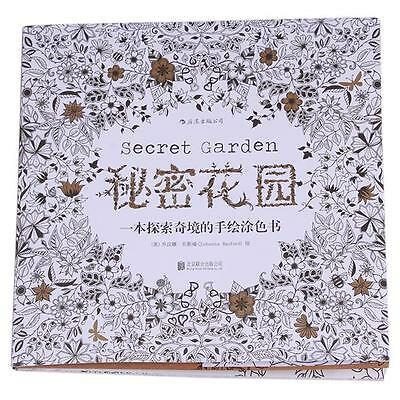 1pcs Hot Secret Garden An Inky Treasure Hunt Coloring Book by Johanna Basford S
