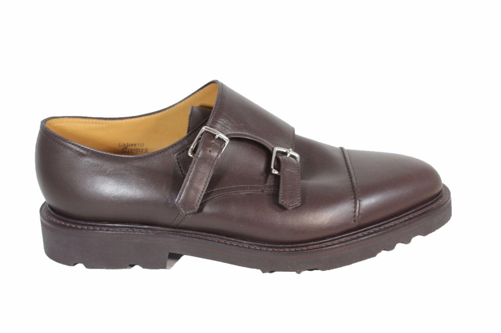 per offrirti un piacevole shopping online JOHN LOBB William II leather leather leather monk strap scarpe eleganti pelle con fondo in gomma  in vendita online