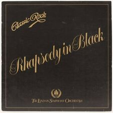Classic Rock Rhapsody In Black  The London Symphony Orchestra Vinyl Record