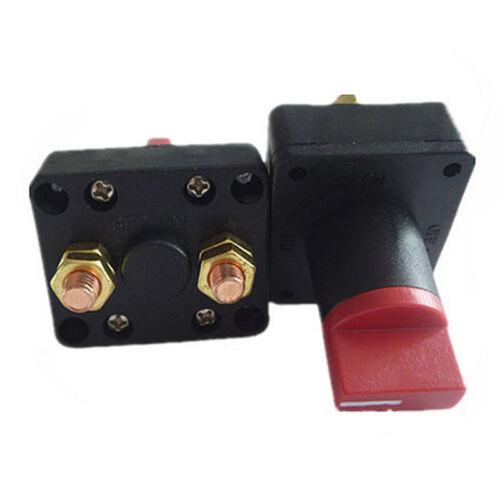 12V 100ACar Boat Camper Battery Isolator Disconnect Cut Off Power Kill Switch KI