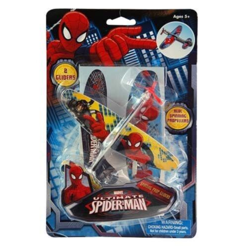Marvel Avengers Spiderman Plane Glider Play Spider Man Ages 5 New Toy Boys Girl