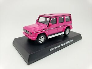 1-64-Kyosho-Mercedes-Benz-AMG-Minicar-Collection-G55-G-Class-Wagon-W463-Pink-NEW