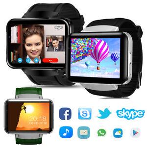 Bluetooth Smart Watch 2.2 inch Smartwatch Phone GPS WIFI Video for Men Women