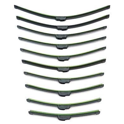 Universal Car Upgrade Frameless Bracketless Windshield Windscreen Wiper Blade