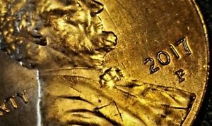 Details about 2017 P Lincoln Shield Cent Awesome Error Coin