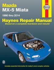 Mazda MX-5 Miata Haynes Repair Manual 1990 thru 2014 #61016
