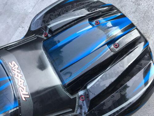 Aluminum Body Savers Washers 8Pcs for Traxxas X-Maxx XMAXX Pink