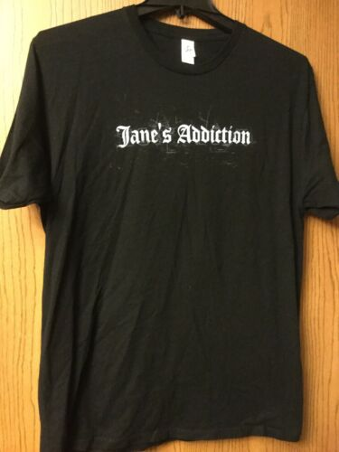 Janes Addiction.  Black Shirt.  XL.