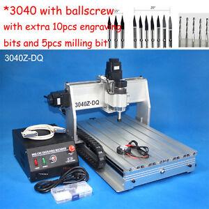 Ballscrew-3040-300W-cnc-router-engraver-engraving-milling-drilling-machine-mach3