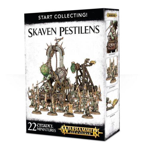 Start Collecting Warhammer Age Of Sigmar Skaven Pestilens 70-90