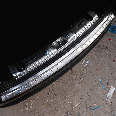 2017 2018 For Jeep Compass Rear Outer Trunk Boot Bumper Guard Sill Plate Protect