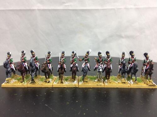 15mm Napoleonic painted Bavarian Chevauleger Rgt Bava02
