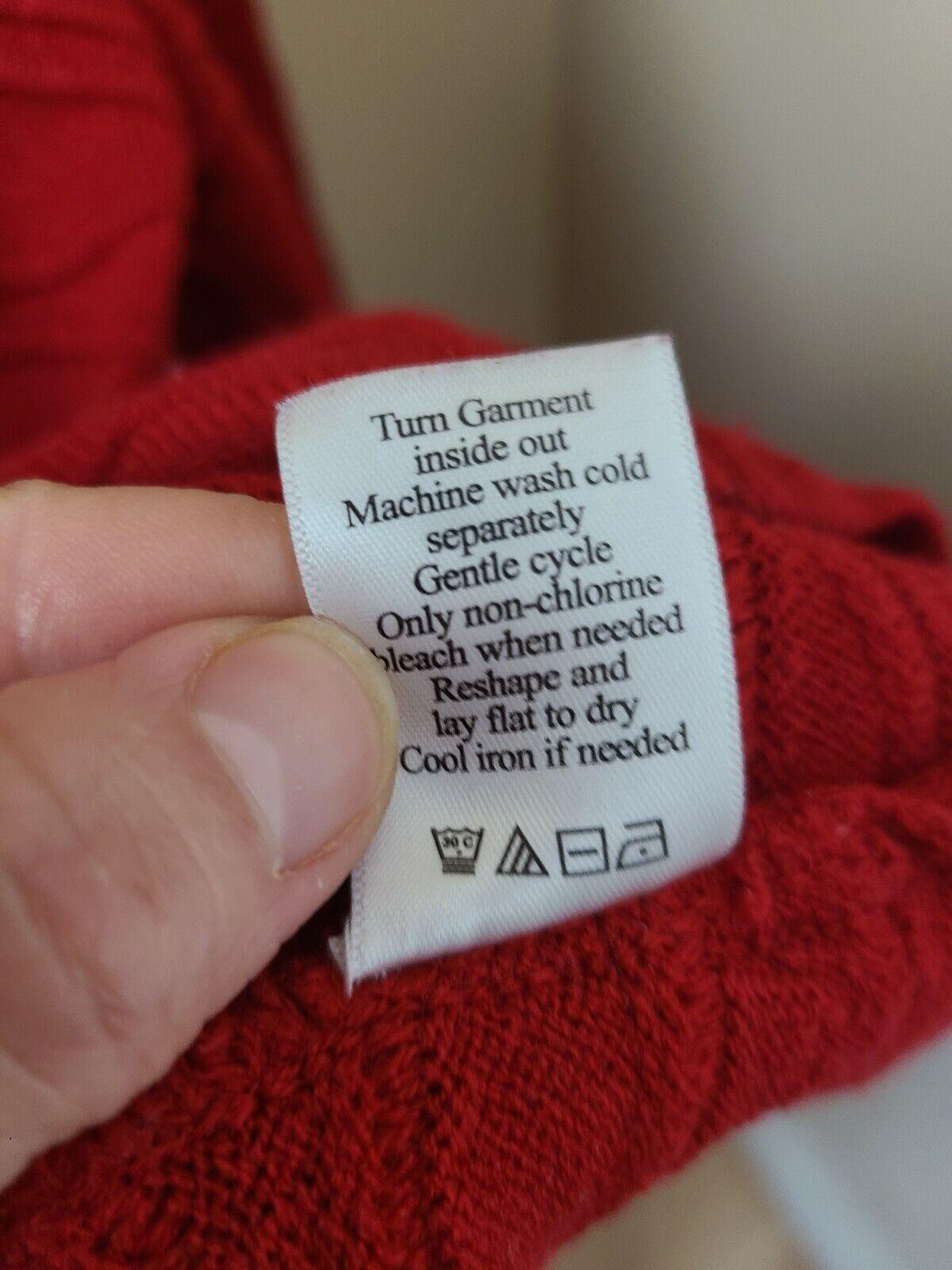 Coldwater Creek Womens Cardigan Sweater Medium Re… - image 7