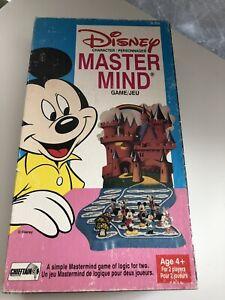 Vintage 1978 Chieftain WALT DISNEY MASTERMIND Game COMPLETE RARE