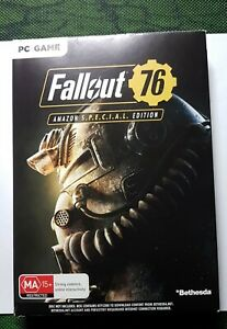Details about Fallout 76: S * * C * * L  Edition PC Game + 3 Pin Badges  Amazon Ed | Brand New