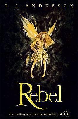 "1 of 1 - ""VERY GOOD"" J Anderson, R, Rebel: Book 2 (Knife), Book"