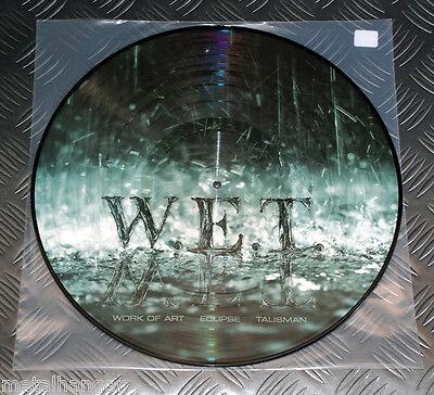 W.E.T. 'S/T' Wet Jeff Scott Soto Pic LP Picture Disc LTD 300 Only Rare Talisman