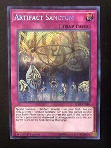 Artifact Sanctum BLLR-EN080 1st Edition Secret Rare