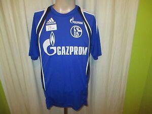 FC-Schalke-04-Adidas-Spieler-Freizeit-Training-Trikot-2014-15-034-GAZPROM-034-Gr-M-TOP