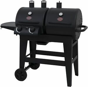 Image Is Loading New Backyard Grill Dual Gas Charcoal Burner
