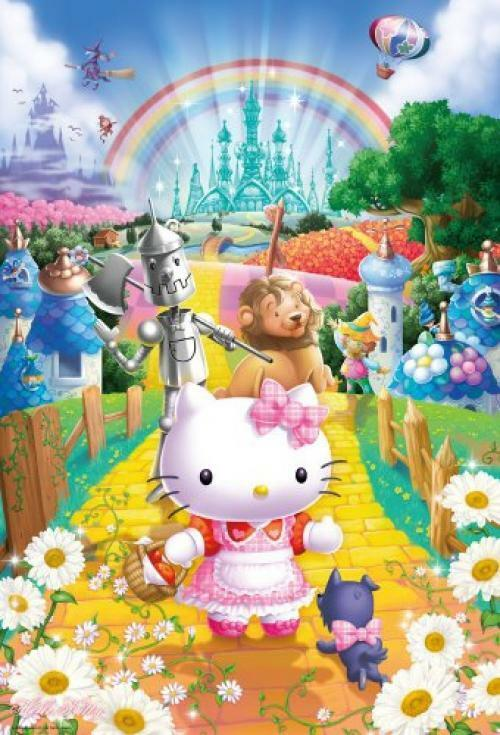 Sanrio Jigsaw Puzzle 1000 pieces 31-416 Hello Kitty Wizard of Oz