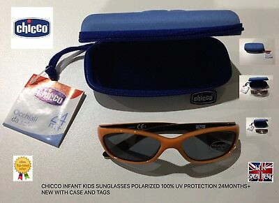 CHICCO KIDS INFANT SUNGLASSES POLARIZED 100/% UV PROTECTION AGE 0 MONTHS NEW