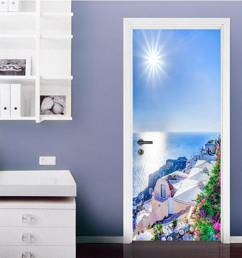 3D Die Sonne Tür Wandmalerei Wandaufkleber Aufkleber AJ WALLPAPER DE Kyra