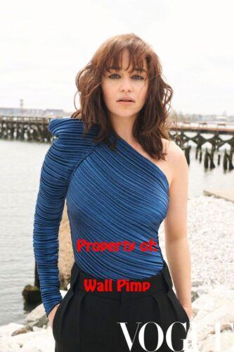 EMILIA CLARKE Poster Hollywood Celebrities Stars Idol Prints Movie BB