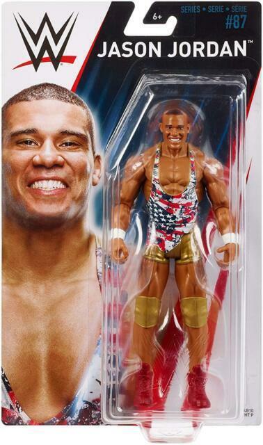 Dean Ambrose WWE Mattel Basic Series 87 Brand New Action Figure Mint Packaging