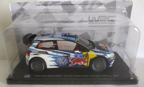 WRC FIA WORLD RALLY CHAMPIONSHIP 1:24 SCEGLI DAL MENU A TENDINA