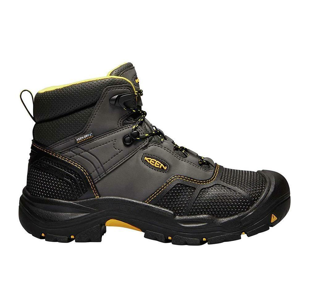 Nuevo Keen para hombre Logandale Impermeable botas De Trabajo Puntera suave resistente al calor