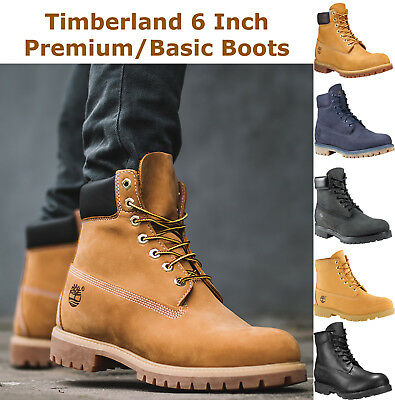 6 Inch Premium Canvas Boots